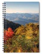 Endless Autumn Mountains Spiral Notebook