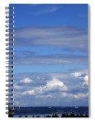 Endless Clouds Spiral Notebook