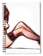 Endless Legs Spiral Notebook
