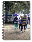 Parade Goers Spiral Notebook