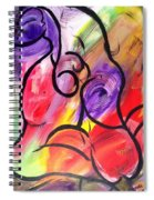 Energy In Motion Spiral Notebook