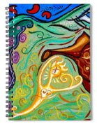 Energy Sprite Spiral Notebook