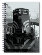 Engine 302 Spiral Notebook