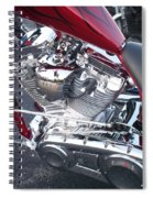 Engine Close-up 4 Spiral Notebook