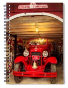 Engine Company 33 Spiral Notebook