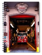 Engine Company 65 Firehouse Midtown Manhattan Spiral Notebook