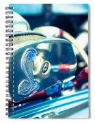 Engine Detail Spiral Notebook