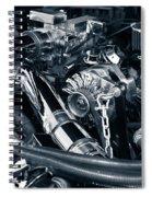 Engine Details Spiral Notebook