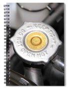 Engine Valve Spiral Notebook