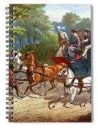 England Road Travel, 1880 Spiral Notebook