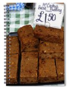 English Bread Pudding Spiral Notebook
