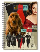 English Cocker Spaniel Art - All About Eve Spiral Notebook