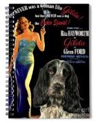 English Cocker Spaniel Art - Gilda Spiral Notebook