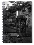 English Country Garden And Mansion - Series II Spiral Notebook