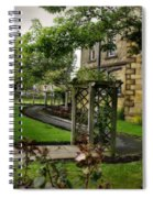 English Country Garden And Mansion - Series IIi. Spiral Notebook