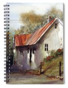English Country Lane Spiral Notebook