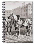 English Farm Horses, 1823 Spiral Notebook