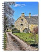 English Farmhouse Spiral Notebook