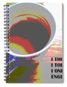 English Tea Spiral Notebook