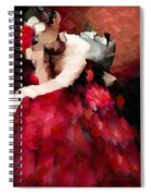 Enigma Of A Geisha - Abstract Realism Spiral Notebook