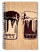 Enjoying Beer Spiral Notebook