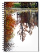 Enjoying The Bayou Spiral Notebook