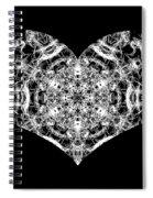 Enlightened Heart Spiral Notebook