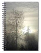 Fog Of Enlightenment Spiral Notebook