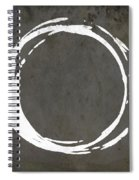 Enso No. 107 Gray Brown Spiral Notebook