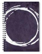Enso No. 107 Purple Spiral Notebook