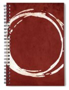 Enso No. 107 Red Spiral Notebook