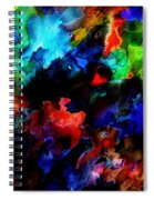 Entangled Colour Spiral Notebook