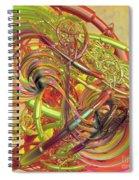 Entanglement Of Life Spiral Notebook