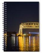 Entering Duluth Harbor Spiral Notebook