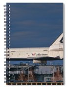 Enterprise At The Intrepid Spiral Notebook