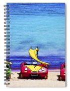 Three's Fun Spiral Notebook
