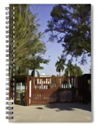 Entrance Gate Of Humayuns Tomb In Delhi  Spiral Notebook