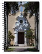 Entrance To Congregational Church Spiral Notebook