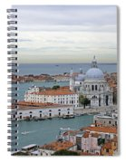 Entrance To Grand Canal Venice Spiral Notebook