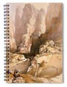 Entrance To Petra Spiral Notebook