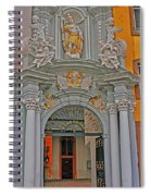Entrance To St Gangolf Spiral Notebook