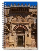 Entrance To The 10th Century Mezquita Spiral Notebook