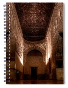Entrance To The Ambassadors Hall In The Alhambra Spiral Notebook