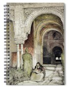 Entrance To The Hall Of The Two Sisters Spiral Notebook