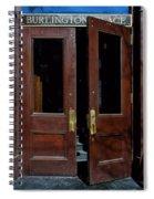 Entry - Burlington Place - Omaha Spiral Notebook