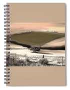 Entwined Before Winter Spiral Notebook