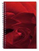 Enveloped In Red Spiral Notebook