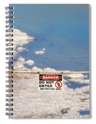 Environmental Disaster By Diana Sainz Spiral Notebook