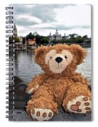 Epcot Bear Spiral Notebook