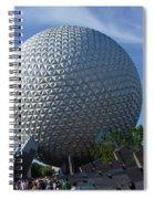 Epcot Centre Spiral Notebook